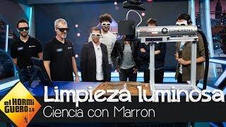 Así es la limpieza luminosa del invento de Marron - El Hormiguero 3.0