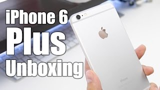iPhone 6 Plus Unboxing (Silver)