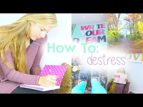 5 Ways To RELIEVE Stress + Become Stress Free
