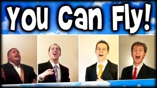 You Can Fly (A Cappella) - Virtual Barbershop quartet (Disney Peter Pan)