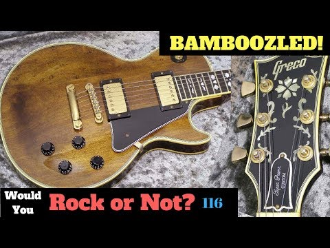 Bamboozled by Greco! 1980 Les Paul Artisan Special Ordered Copy   Would You Rock Or Not? 116