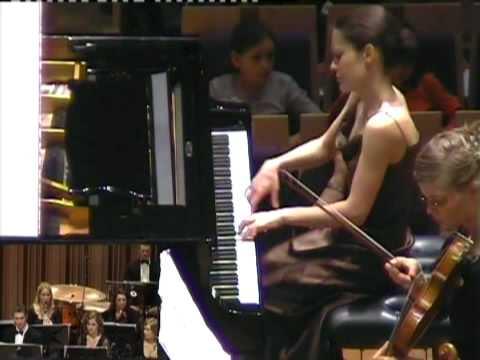 S. Prokofiev Piano Concerto nr.3 (1/3) (Hanna Shybayeva)