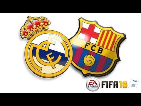 Real Madrid Vs. Barcelona! Spitão Merengue! ;) | FIFA 2016 - Demo [PT-BR]