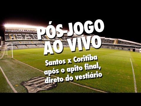 Santos 3 x 0 Coritiba | PÓS-JOGO AO VIVO | Brasileirão (08/08/15)