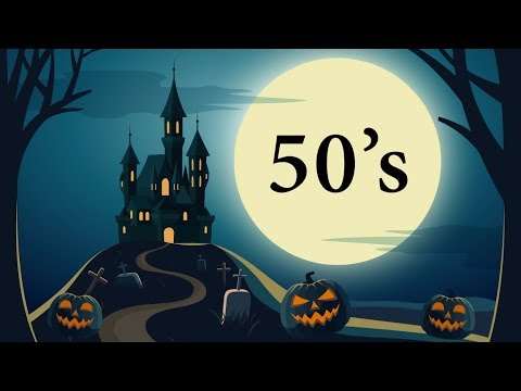13 Halloween Songs from the 50s – Full Song Playlist