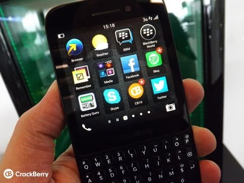 Gaming on the BlackBerry Q5