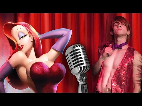 Male Jessica Rabbit - Chris Villain Cover