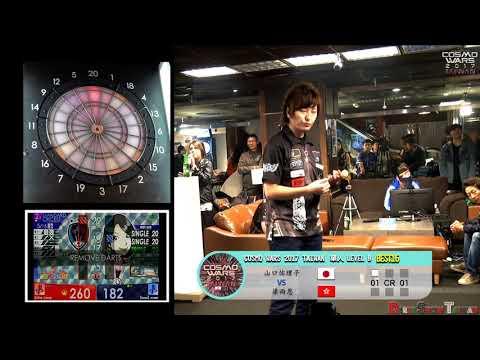 COSMO WARS 2017 TAIWAN Single Level B BEST16 Cathy Leung 梁雨恩 VS Nasa山口祐理子