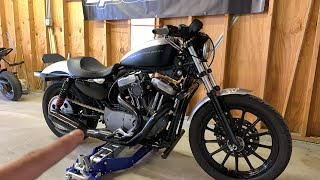 Harley 1200 Sportster Stunt Bike Build!