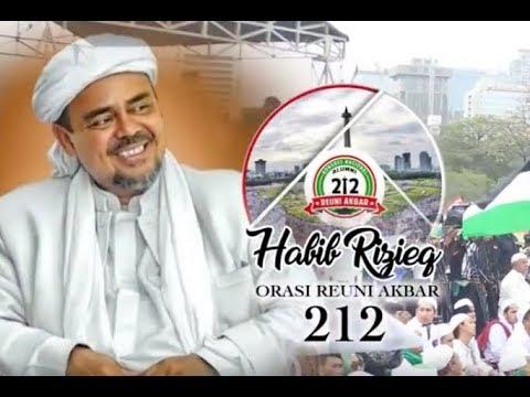 REUNI AKBAR 212: ORASI FULL HABIB RIZIEQ SHIHAB pada REUNI 212