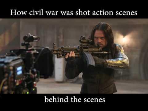 How Action Scenes in Civil War Was Shot Behind The Scenes HD
