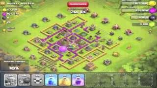 Clash of Clans - 200 Goblins Attack - Didn't go so well - Let's Play Clash of Clans #32