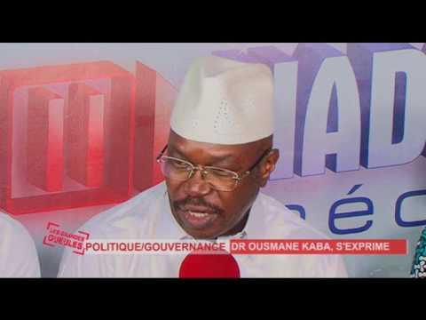 Dr Ousmane KABA PADES de Retour en Guinée sur les GG du Lundi 12/06/17