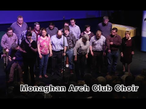 Monaghan Arch Club Choir perform at the Monaghan Integrated Development Awards Ceremony  2017