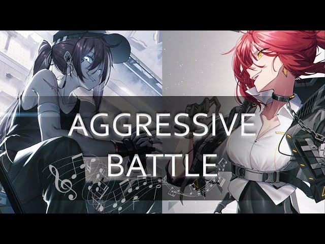 1 HOUR AGGRESSIVE BATTLE MIX | ♫ Most Badass Heavy Metal/Rock Music Ever ♫ - Vol. 2