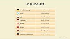 Eisheilige 2020 - Datum - Bauernregeln 2020