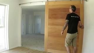 Barn door  (not rustic)