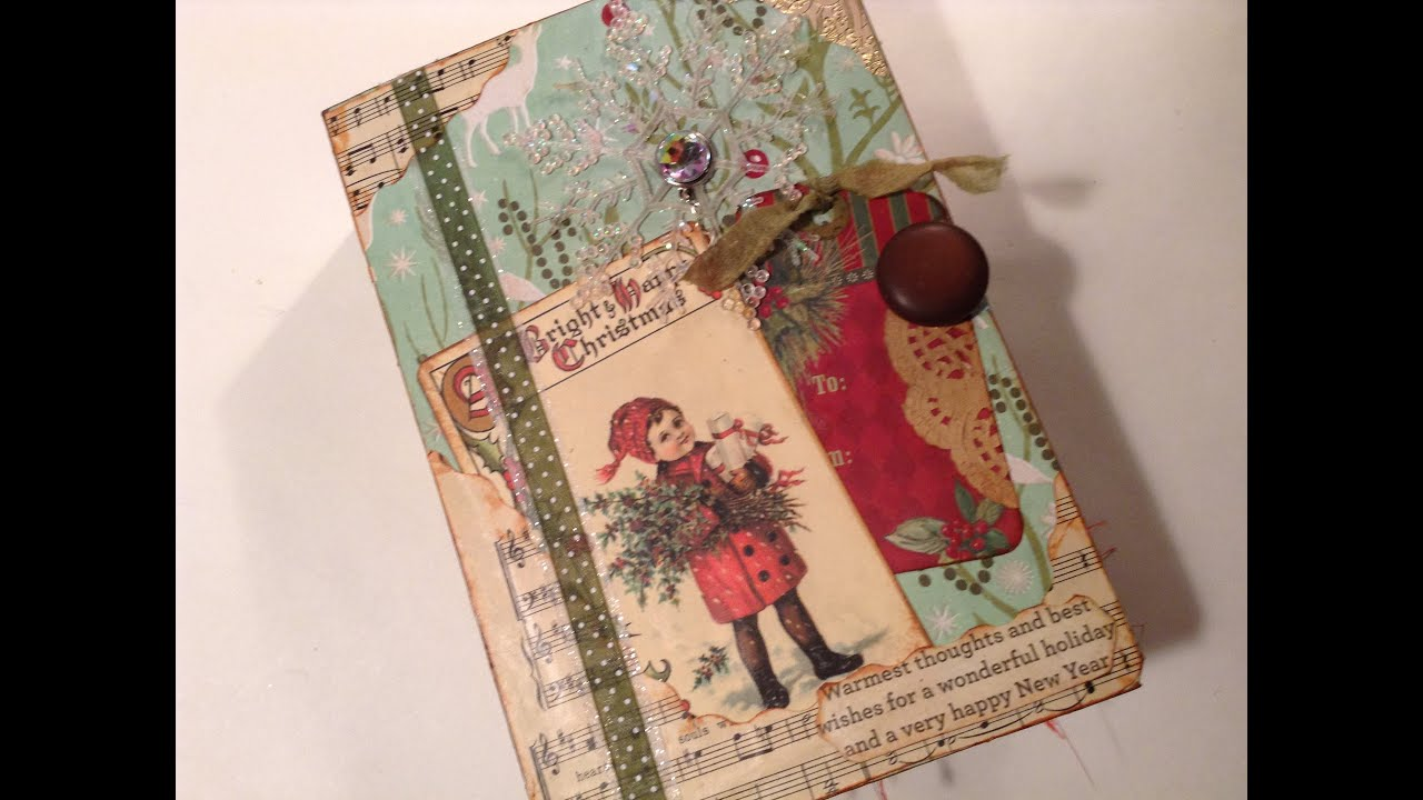 Megarainbowdash2000 S Journal: Winter's Christmas Junk Journal