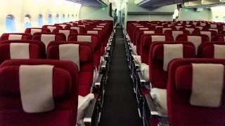 Qantas A380 cabin walkthrough - main deck