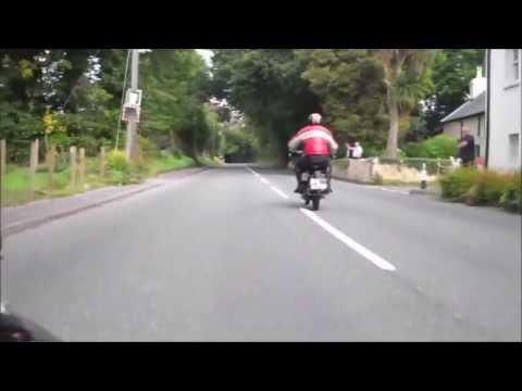 Isle of Man TT. One lap with course history and commentary.