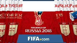 Tickets fifa world cup 2018