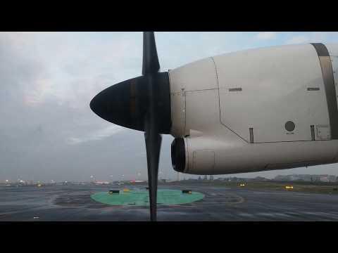 ATR 72-600 TAP EXPRESS Take Off Lisbon