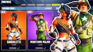 "The New ""BANDOLETTE"" SKIN... (Fortnite Item Shop Today)"