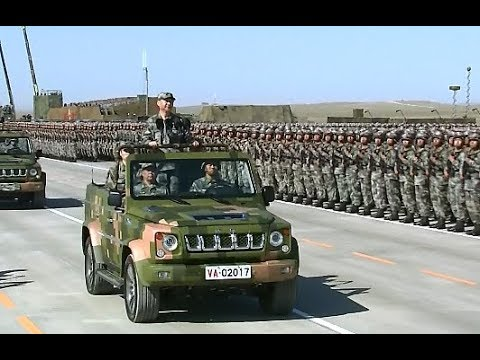 China Marks PLA 90th Birthday with Military Parade (Full Version)
