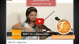 SOFT TV - Eileen Chai Live Looping on Violin, with Vocals