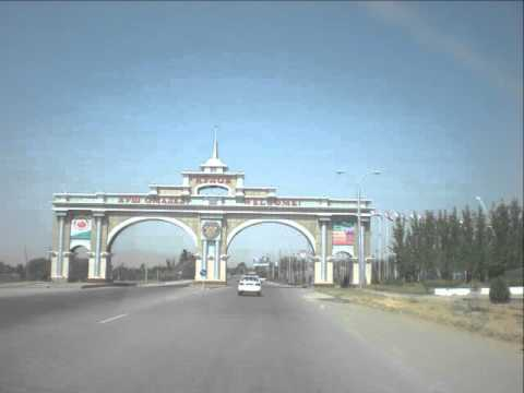 Kulob ,city in Tajikistan, beautiful buildings, before the 7.5 earthquake in Afghanistan