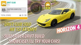 DRIFT CLUB | Subscriber DRIFT BUILD Showcase Forza Horizon 4 Drift Club 3 Stars + Open Drift Lobby