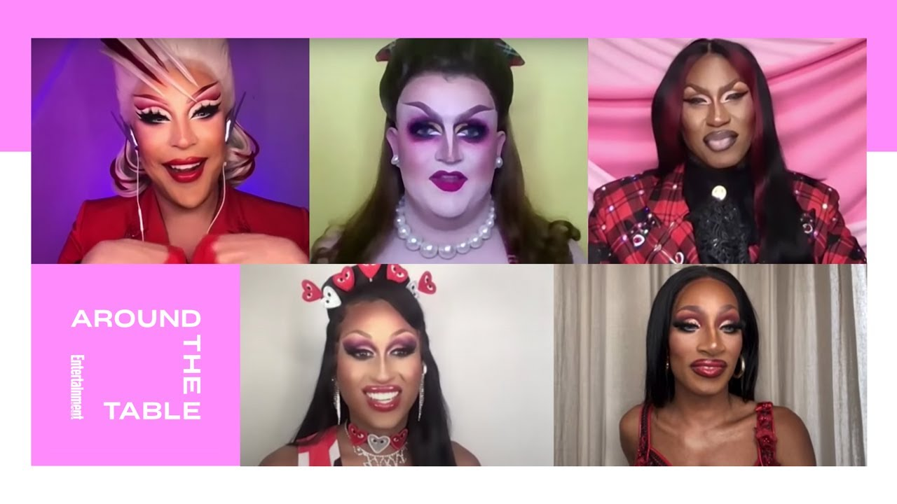 'RuPaul's Drag Race' Winners on Drag Culture and Fashion   Around the Table