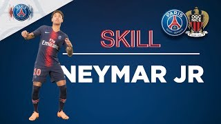 SKILL/GESTE TECHNIQUE - PARIS SAINT-GERMAIN vs NICE - NEYMAR JR