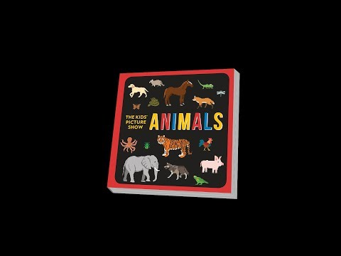 Animals Book Teaser Trailer - Rainforest Animals, Savannah Animals & More - The Kids' Picture Show