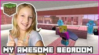 Making My Awesome Bedroom / Minecraft