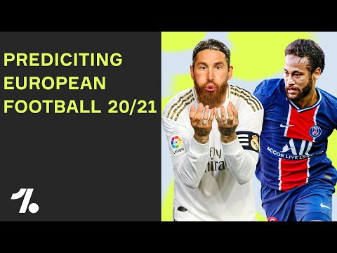 Predicting La Liga, Bundesliga, Serie A and more! Our 20/21 predictions!