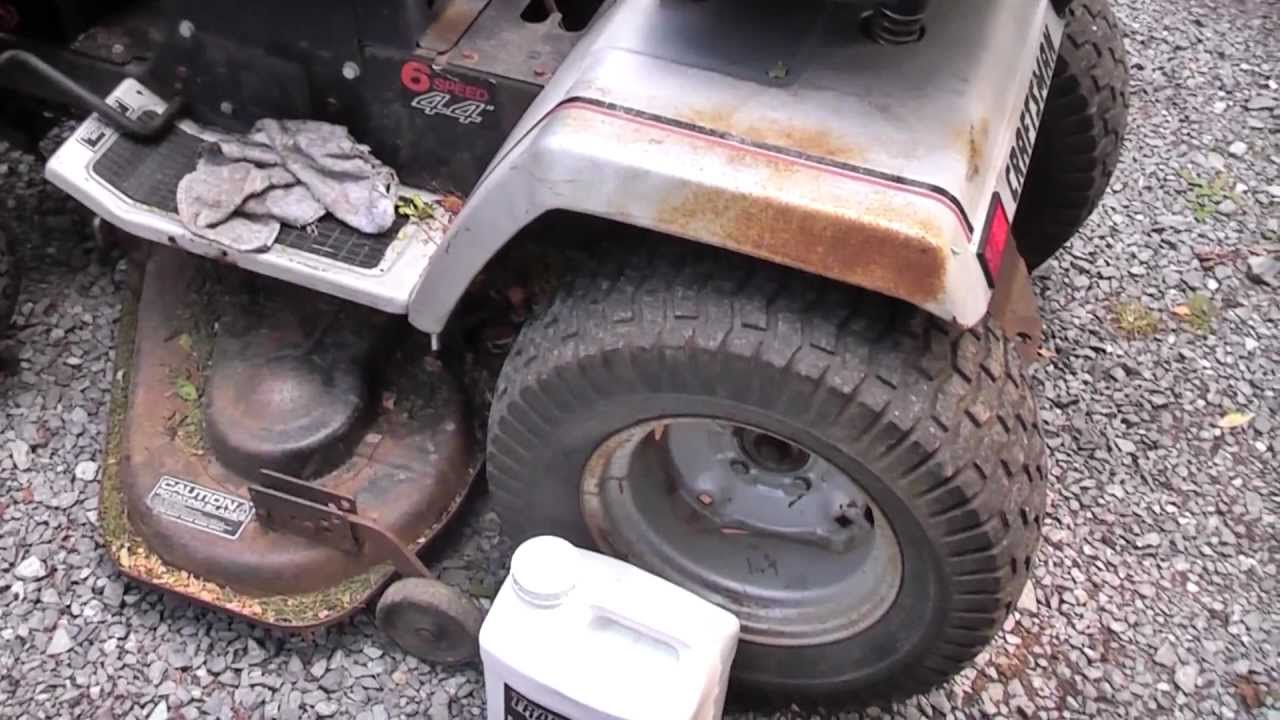 1989 craftsman gt-18 garden tractor - youtube
