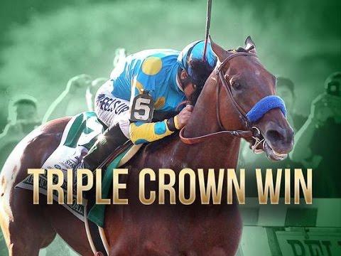 American Pharoah's Road To Stardom! (Inc. ALL Three Triple Crown Races)