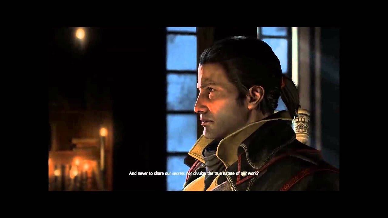 Shay Taking Templar Oath in Assassin's Creed Rogue (with ...