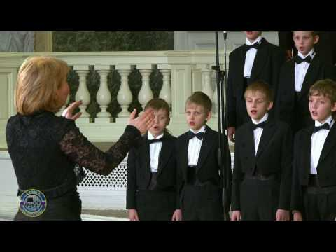 Lacrimosa from Requiem Mozart Piano - Moscow Boys' Choir DEBUT
