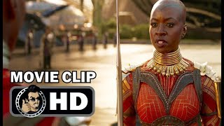 BLACK PANTHER Movie Clip - Welcome Home (2018) Chadwick Boseman Marvel Superhero Movie HD