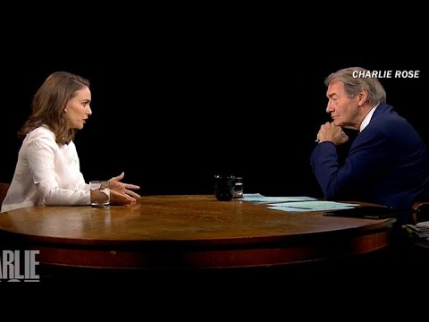 Charlie Rose interviews Natalie Portman