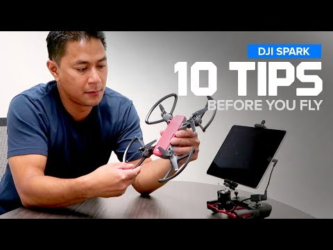 DJI Spark Setup - 10 Steps : Before You Fly