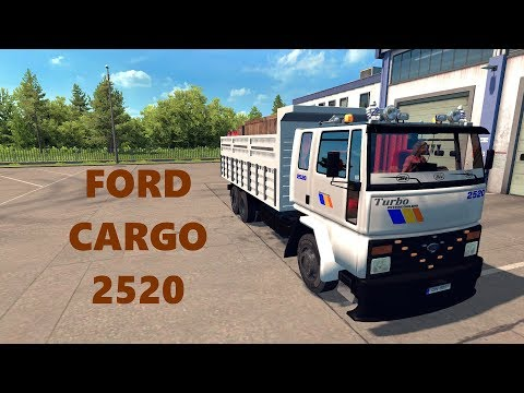 ETS 2 / ATS: Ford Cargo 2520 Kamyon Modu 1.33