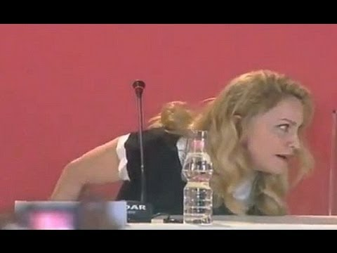 Madonna Caught On Tape Dissing Flowers