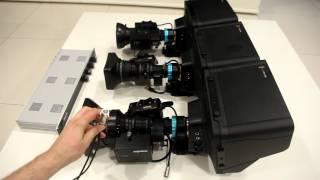 Blackmagic Studio Camera B4 (ENG) Iris control