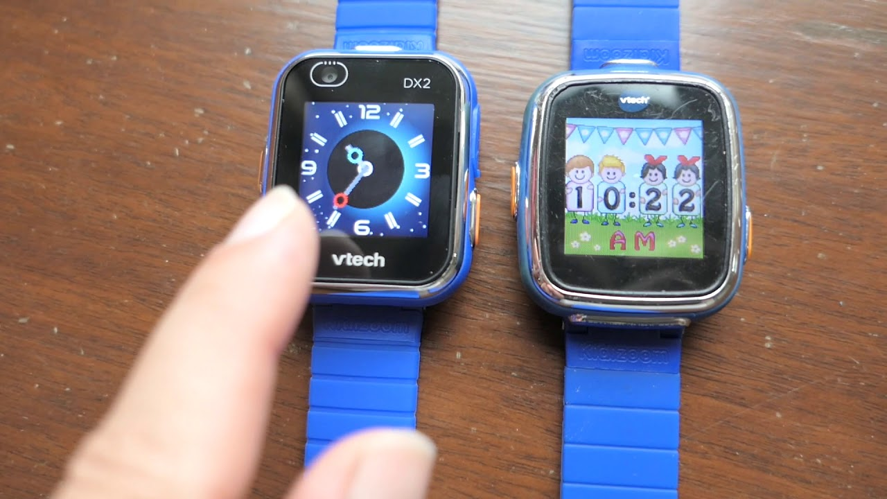 Vtech Kidizoom Smartwatch Dx2 Blue Review Youtube