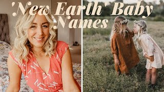"""""""NEW EARTH"""" The Huge BABY NAME Trend Taking Over In 2021!  Earthy, Boho, Nature Baby Names/SJ STRUM"""