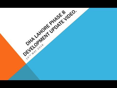 Phase 8 DHA Lahore Development Update