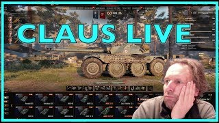 WOT - Claus Live | World of Tanks